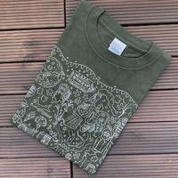 上京20年記念Tシャツ(アーミーグリーン)