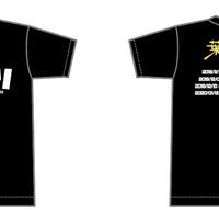 2ndワンマンツアーTシャツ-オカワリ- 黒ver.