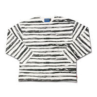PIRATE BORDER LONGSLEEVE WIDE SHIRTS