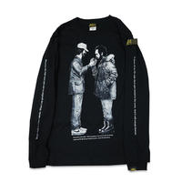 HEADGOONIE x JETLINK DIRECTOR DANCE LONGSLEEVE T-shirts (BLACK)