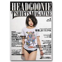 HEADGOONIE T-shirts MAGAZINE vol.01