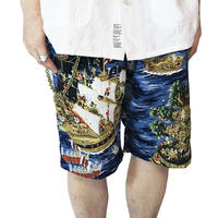 PIRATES ISLAND ALOHA SHORT PANTS