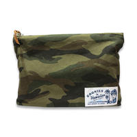WOODLAND CAMO MINI POUCH