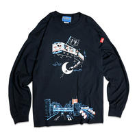 FLYING TRAIN LONGSLEEVE T-shirts