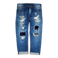 HANDWORK DAMAGED DENIM PANTS