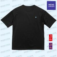HR 刺繍TEE(DEEP BLACK)ビッグシルエット