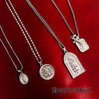 Vintage Silver Ctholic Medai Chokers