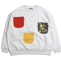 MULTI POCKET BIG CREW -IRIEby irielife-