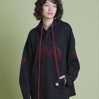 Big rhinestone hoodie