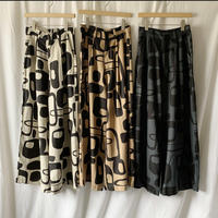 Manic Monday・Print Linen Pants