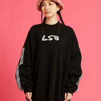 LSB high neck sweat dress