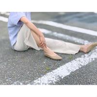 DAZZLE・Linen Rayon Slit Pants