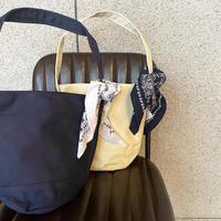 バンダナ付きバケツ型バッグ