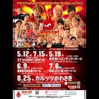 8.25カルッツかわさき大会前売りチケット【リングサイド席】