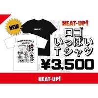 【NEW】ロゴいっぱいTシャツ【白】
