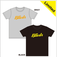 Blink T-shirt<limited>(GRAY/BLACK)【HW20-002】