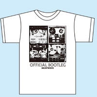 OFFICIAL BOOTLEG  Tシャツ/ホワイト(1186-WH-S)