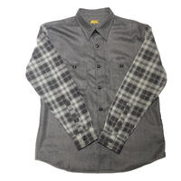 HARDEE CHECK SHIRTS GRAY