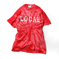 CUTRATE TIE DYE T-SHIRT SPIDER RED