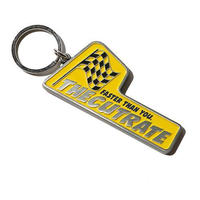 METAL KEY HOLDER YELLOW CR-16S016