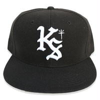 "KUSTOMSTYLE  ""LOCK CITY"" SNAP BACK CAP BLACK"