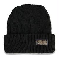 "KUSTOMSTYLE  ""ETERNAL FLAME"" BEANIE BLACK"