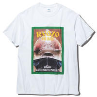 RADIALL × RYOZO BAND GET LOST - CREW NECK T-SHIRT S/S WHT