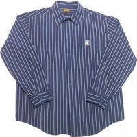 HARDEE STRIPE L/S SHIRTS NAVY