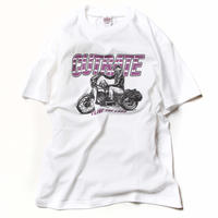 CUTRATE BIKE T-SHIRT WHITE