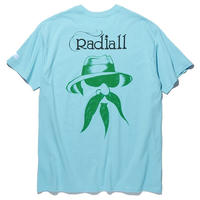 RADIALL × 4D7S   JOINT - CREW NECK T-SHIRT S/S  BLUE