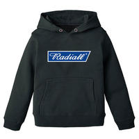 RADIALL  BLUE FLAG - KID'S PULLOVER PARKA BLACK