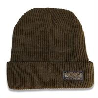 "KUSTOMSTYLE  ""ETERNAL FLAME"" BEANIE OLIVE"