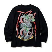 SOFTMACHINE THUDERBOLT L/S TEE BLACK