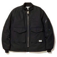 RADIALL MOON STOMP FLIGHT JACKET BLACK