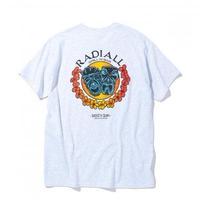 RADIALL  TWO FACE - CREW NECK T-SHIRT S/S ASH GRY