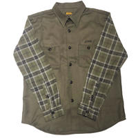 HARDEE CHECK SHIRTS OLIVE
