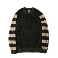 CUT RATE SLEEVE BORDER BOA FLEECE