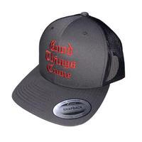 HARDEE G.T.C CAP GRY/RED