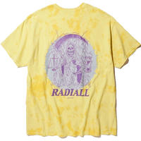 RADIALL     HOUR GLASS - CREW NECK T-SHIRT S/S  TYEDYE
