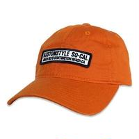 "KUSTOMSTYLE ""HUNTINGTON BEACH CA"" LOW CAP ORANGE"
