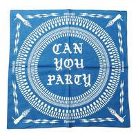 CUTRATE  C.Y.P.? BANDANA BLUE