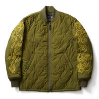 SOFTMACHINE RISE & FALL JK QUILTING JACKET OLIVE