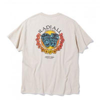 RADIALL  TWO FACE - CREW NECK T-SHIRT S/S SAND