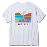 RADIALL  MANTLE - CREW NECK T-SHIRT S/S WHITE