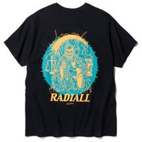 RADIALL     HOUR GLASS - CREW NECK T-SHIRT S/S  BLK