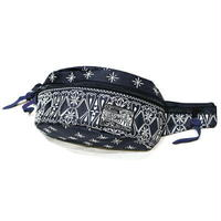 KUSTOMSTYLE  BANDANA WAIST BAG  NAVY