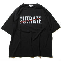 CUTRATE BIG SIZE LOGO POCKET T-SHIRT BLACK