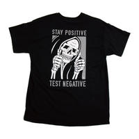 LURKING CLASS STAY POSITIVE TEE BLACK