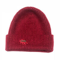 HARDEE DXN LOGO CAP RED-GREEN