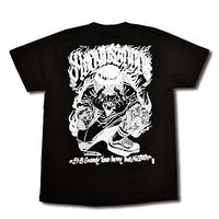 HEAVEN'S+LOCOS T-SHIRT BLACK
